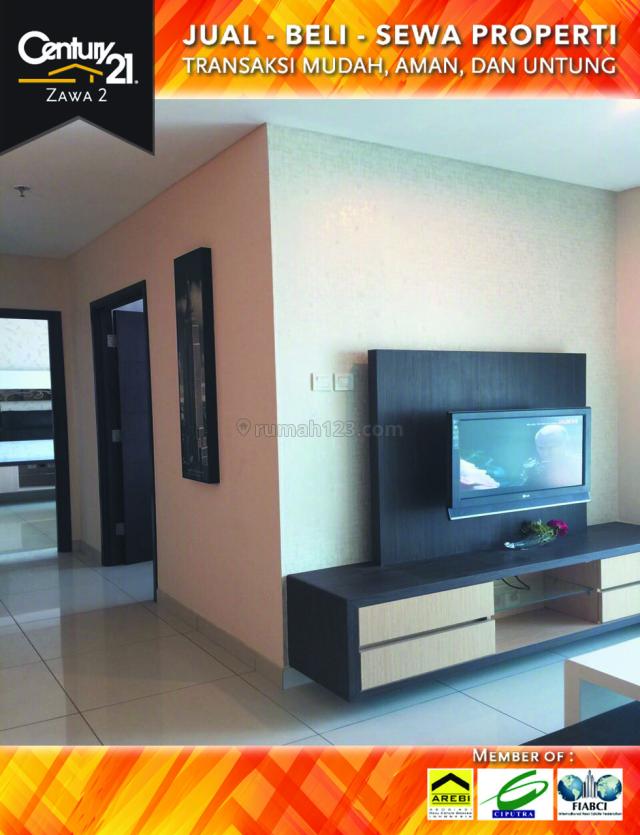 Apartemen Central Park 2BR Furnished Luas 82 harga 170 Juta / Tahun, Central Park, Jakarta Barat