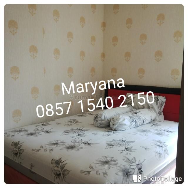 Apartemen Medit 2 di Tj Duren 1 BR Furnish & Renov siap huni Tahunan, Tanjung Duren, Jakarta Barat
