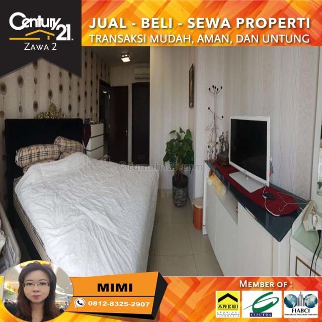 Apartemen Central Park Residence 3BR Fully Furnish High Floor, Central Park, Jakarta Barat