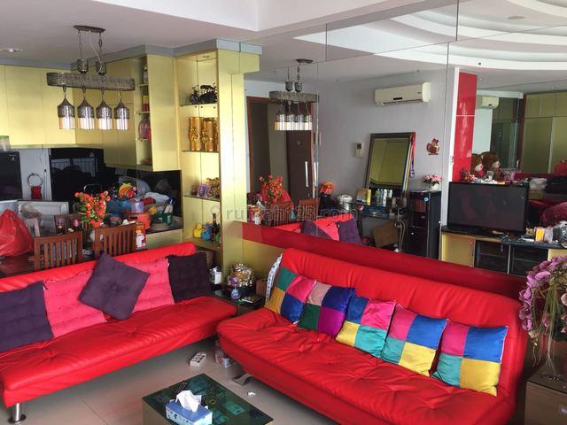 apartemen ancol mansion 1br furnished lantai tinggi hadap laut, ancol, jakarta utara