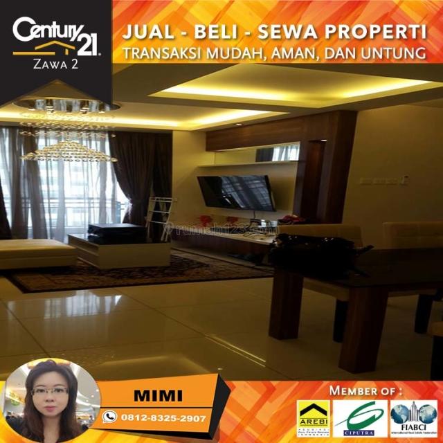 Apartemen Central Park Residence 2BR+1 Fully Furnished Midle Floor View City, Central Park, Jakarta Barat