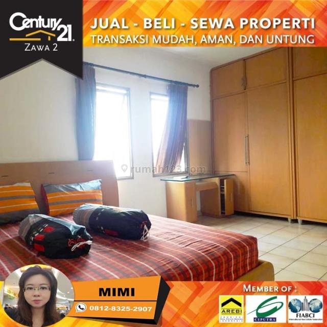 Apartemen Medit 1 Furnish Bagus 3BR 2BT Lantai Rendah View Pool, Tanjung Duren, Jakarta Barat