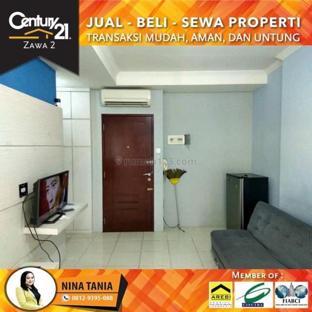 Apartemen Mediterania Garden 2|| 2BR Full Furnished Lantai Rendah View Pool, Tanjung Duren, Jakarta Barat