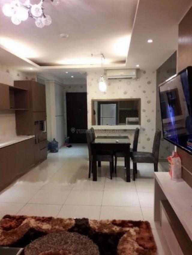 Apartemen Central Park Residences 2BR Furnished Bagus Siap Huni, Tanjung Duren, Jakarta Barat