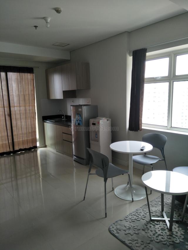 Madison Park 2 Bedroom 2 Kamar 2 BR Full Furnish 52,2m2 Harga Per 1 Bulan, Tanjung Duren Selatan, Jakarta Barat