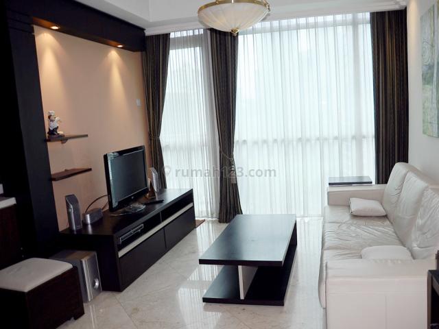 Apartemen Bellagio Residences 3 BR - 104 Sqm - Furnished, Kuningan, Jakarta Selatan