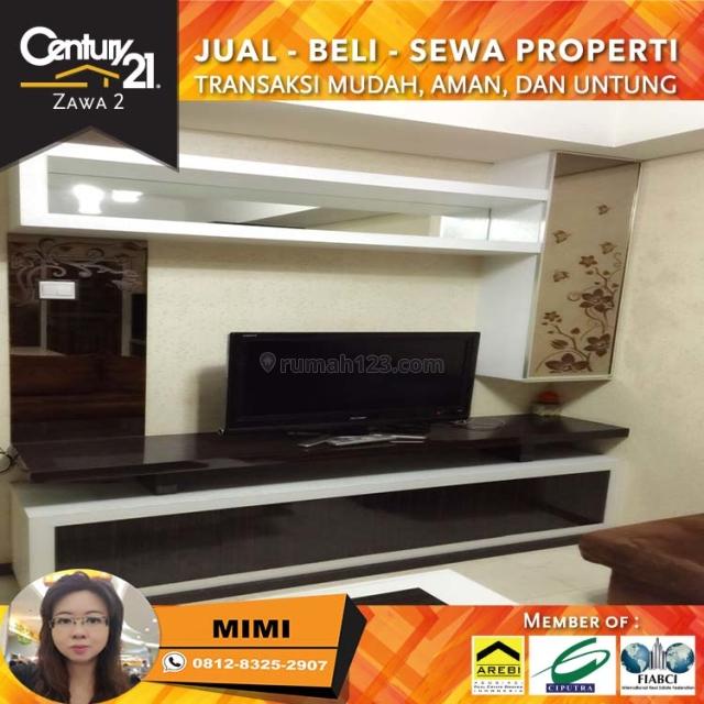 Apartemen Royal Mediterania Garden 2BR Full Furnish Bagus Lantai Rendah View Pool, Tanjung Duren, Jakarta Barat