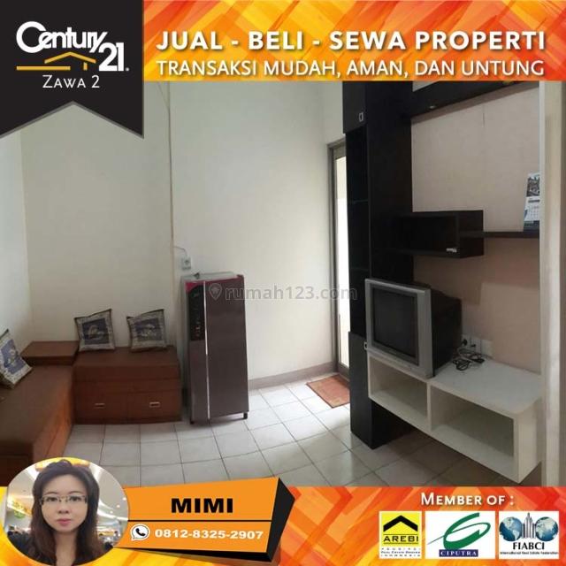 Apartemen Mediterania Garden 1 Full Furnished 2BR Lantai Rendah Tower Azalea View Pool, Tanjung Duren, Jakarta Barat