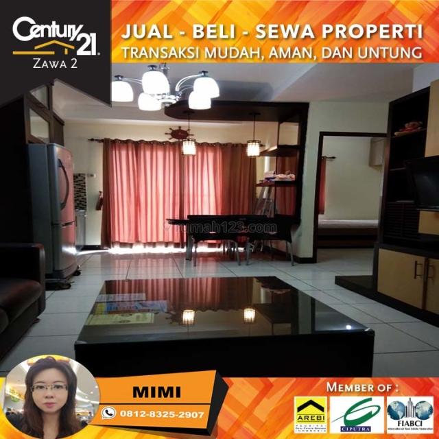 Apartemen Mediterania Garden 2BR Full Furnish Middle Floor Tower Jasmine View City, Tanjung Duren, Jakarta Barat