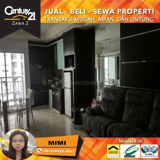 Apartemen Mediterania Garden 3BR Full Furnish Lantai Tengah Tower Kenanga, Tanjung Duren, Jakarta Barat