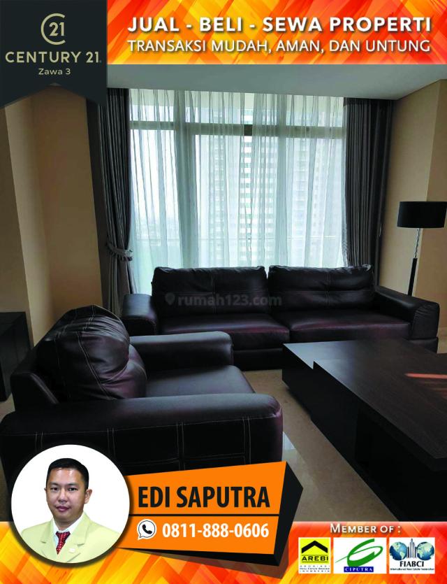 Apartemen Essence Dharmawangsa 3BR Full Furnished Low Floor, Kebayoran Baru, Jakarta Selatan