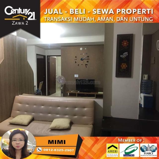 Apartemen Mediterania Garden 2BR Fully Furnish Lantai Rendah Tower Kenanga, Tanjung Duren, Jakarta Barat