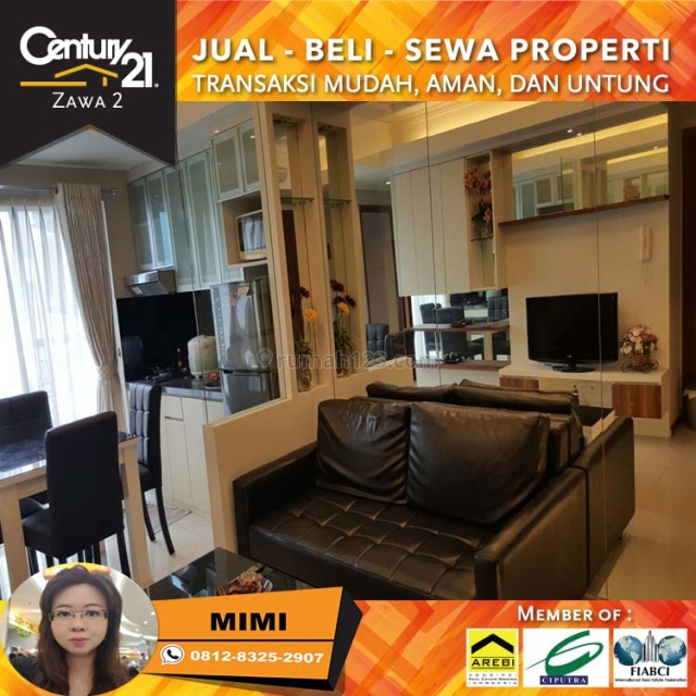 Apartemen Royal Mediterania Garden 2BR Full Furnish Middle Floor Tower Lavender, Tanjung Duren, Jakarta Barat