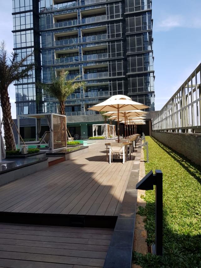 Brand New Apartment District 8 @ Senopati – 153 m2 2 BR with Service Area, Spacious Balcony & Private Lift – Semi Furnished, SCBD, Jakarta Selatan