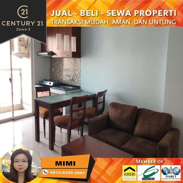 Apartemen Royal Mediterania 2BR Full Furnish Lantai Rendah View Tribeca, Tanjung Duren, Jakarta Barat