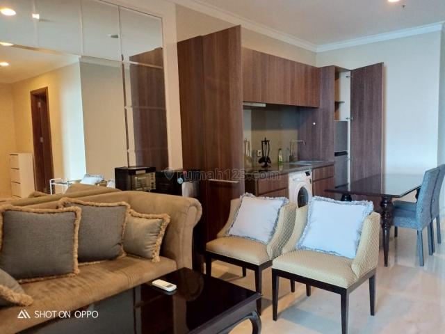 Apartment Residence 8 2BR Tower 3 Middle Floor Furnished, Kebayoran Baru, Jakarta Selatan