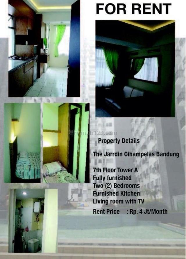 apartement jardin cihampelas, Cihampelas, Bandung