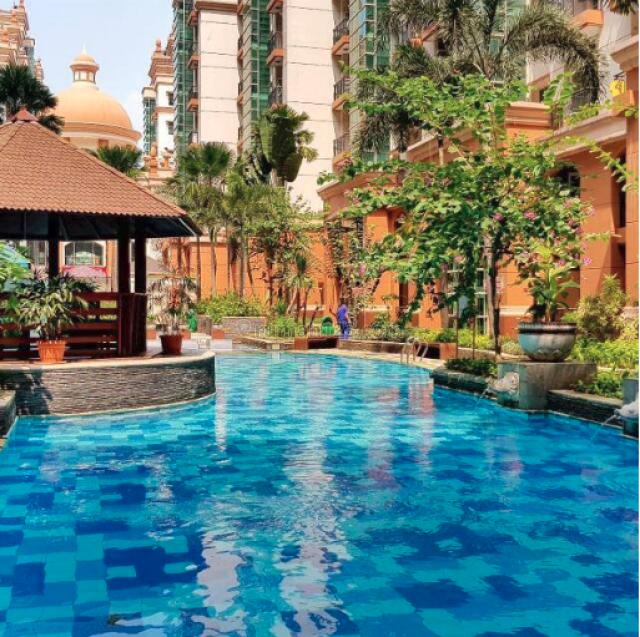 view moi mall apt gading resort 3 1 br non furnished , kelapa gading, jakarta utara