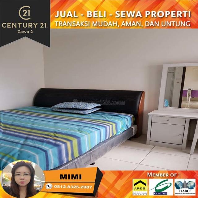 Apartemen Mediterania garden 2, 2BR Full Furnish Low Floor Tower Flamboyan, Tanjung Duren, Jakarta Barat