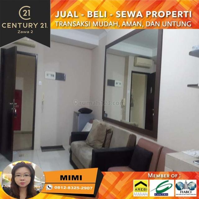Apartemen Mediterania Garden 2, 2BR Full Furnish Lantai Sedang View City, Tanjung Duren, Jakarta Barat