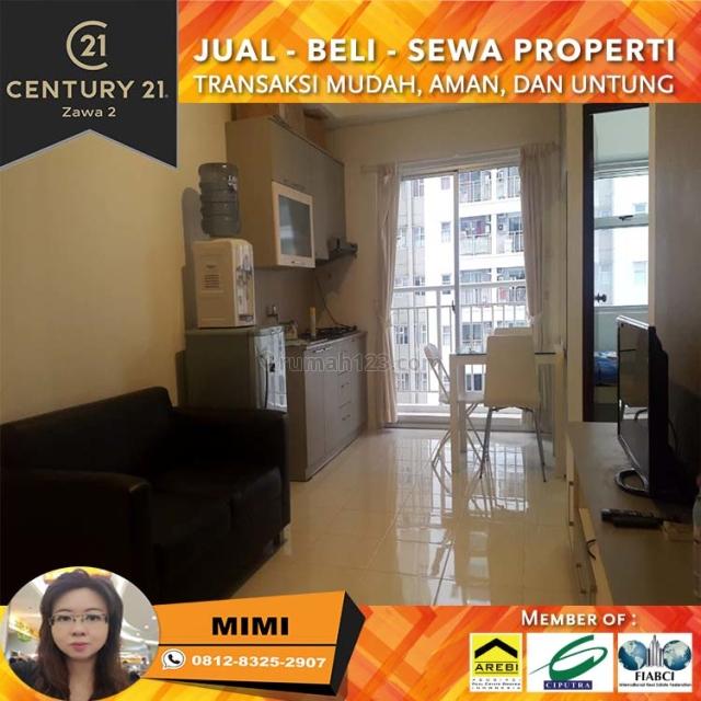 Apartemen Mediterania Garden 2BR Full Furnish Low Floor Tower G view City, Tanjung Duren, Jakarta Barat