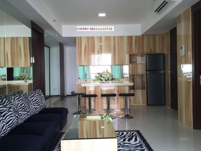 New Royal Tower lantai 27 FULL FURNISHED TERMURAH (90 sqm, 2 kamar) St Moritz Puri indah, Jakarta Barat, Puri Indah, Jakarta Barat