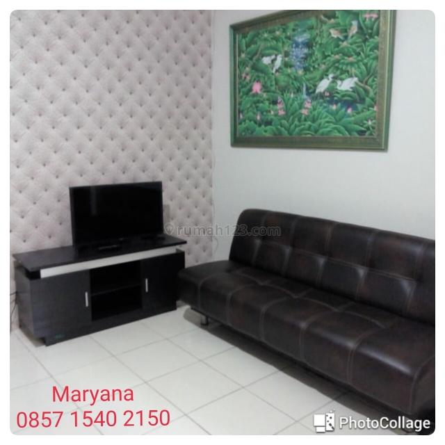 Apartemen Mediterania Garden Residences 2 - Jakarta Barat 2+1 BR Furnish Rapi Terawat Tahunan, Tanjung Duren, Jakarta Barat