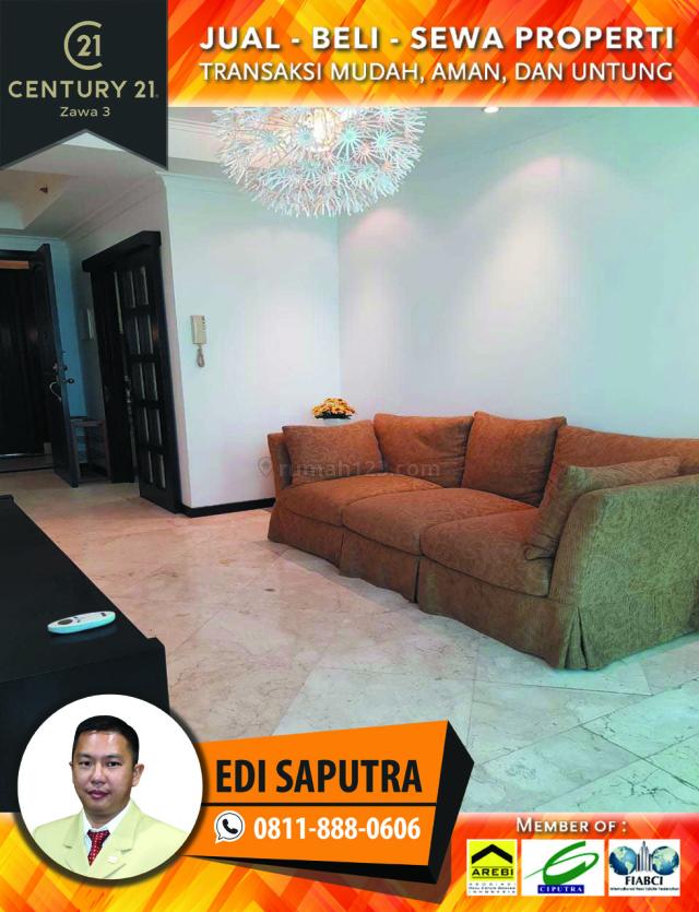 Apartemen Bellagio Residence 2BR Full Furnished Lantai Rendah, Mega Kuningan, Jakarta Selatan