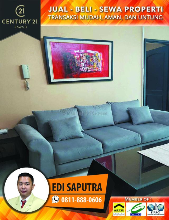 Apartemen Bellagio Residence 2BR Full Furnished Middle Floor, Mega Kuningan, Jakarta Selatan