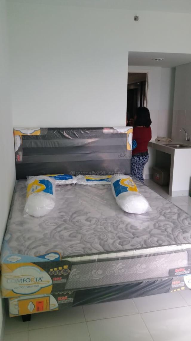 Apartemen Ayodya studio siap huni furnish, Modernland, Tangerang