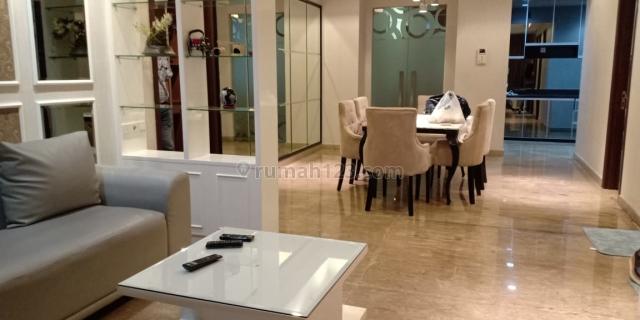 Apartemen Kemang Village 3+1 BR Private Lift High Floor Tiffany Tower Furnished, Kemang, Jakarta Selatan