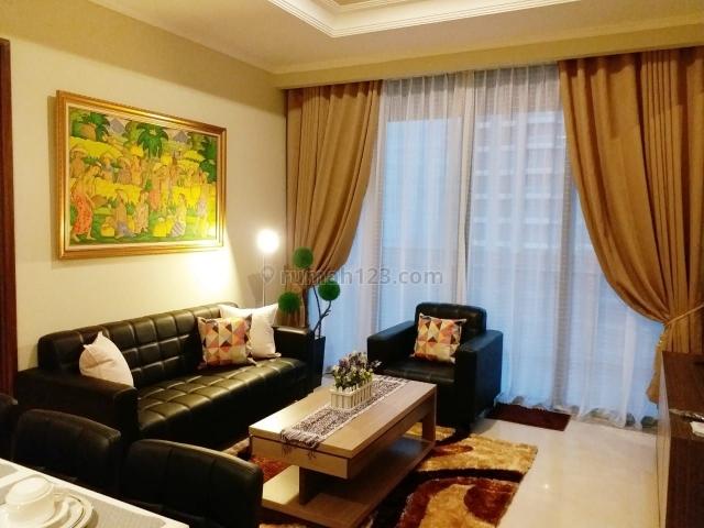 Apartemen Mewah District 8 @ Senopati Tipe 2 Bedroom + 1 Fully Furnished, Jakarta Selatan., Senopati, Jakarta Selatan