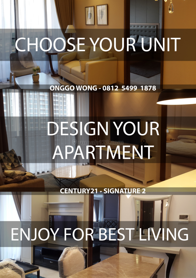 District 8... DESIGN your own APARTMENT, SCBD, Jakarta Selatan
