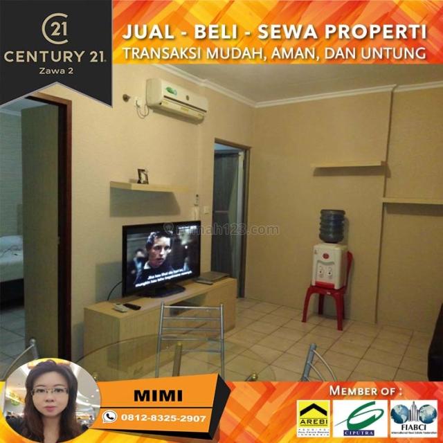 Apartemen Mediterania Garden 1, 2BR Fully Furnish Middle Floor, Tanjung Duren, Jakarta Barat