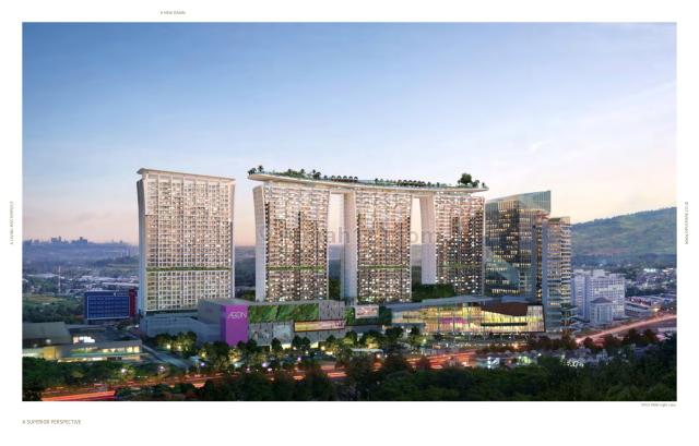 Opus Park Apartment Connecting To AEON Mall, Sentul City Bogor, Sentul City, Bogor