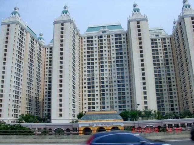 apartement mall of indonesia kelapa gading siap huni, kelapa gading, jakarta utara