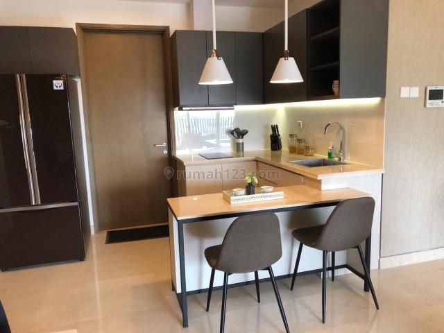 Apartemen 1 Park Avenue, 2+1BR. Furnish. USD. 2500/Bulan, Kebayoran Lama, Jakarta Selatan
