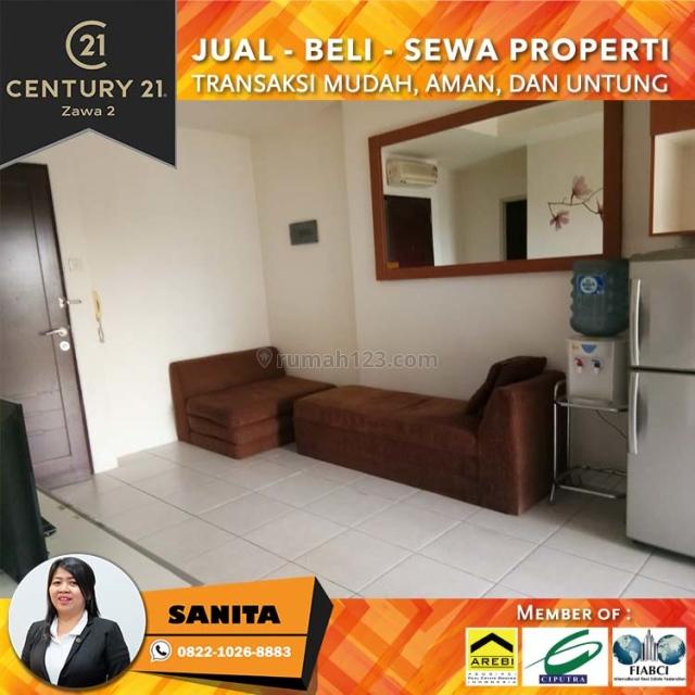 Apartemen Mediterania Garden 2, 2BR Semi Furnish Tower Flamboyan, Tanjung Duren, Jakarta Barat