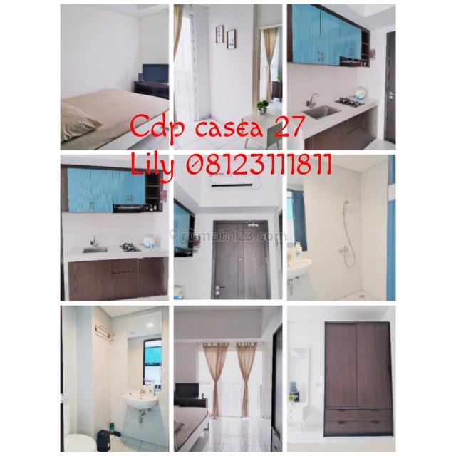 studio apartment 30juta/th di cdp bsd, BSD, Tangerang