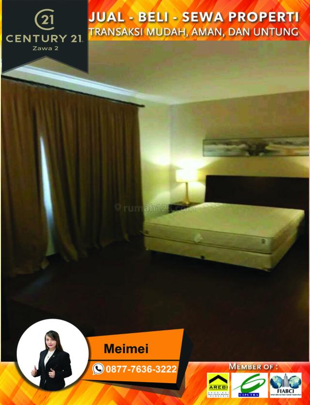 apartemen aston marina ancol luas 48m2 2br furnsihed lantai sedang view laut harga 500jt shm, ancol, jakarta utara