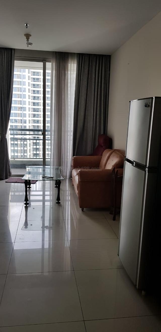 Apartment Cantik Central Park Residence 1BR Furnish Bagus High Floor-Jakarta Barat, Central Park, Jakarta Barat