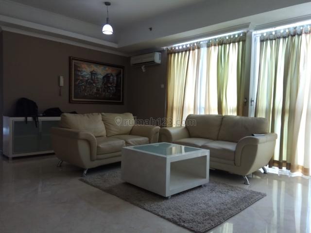 Apartemen Bellagio Residence 3BR Full Furnished Tower A Lantai Tinggi, Mega Kuningan, Jakarta Selatan