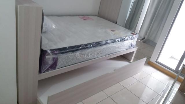 M-Town Residence, studio semi furnish, bisa per 3 bulan, Depan gading Mall Serpong, Tangerang, Gading Serpong, Tangerang