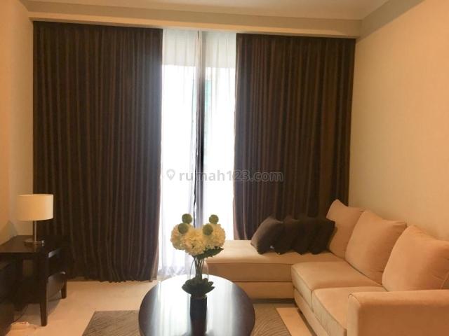1BR, Apartement Distric 8, Furnish, USD. 1700/Bulan, Kebayoran Baru, Jakarta Selatan