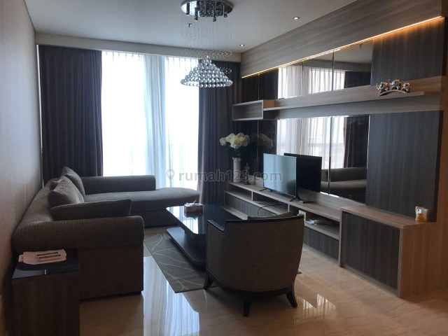 Apartemen Pakubuwono House. 2BR, Furnish, Kebayoran Baru, Jakarta Selatan