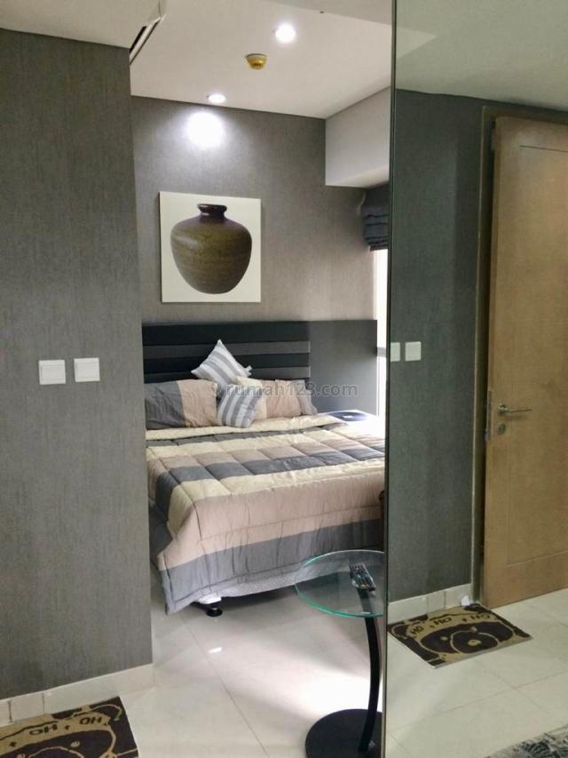 Apartemen Taman Anggrek Luas 50m2 1BR Suites Full Furnihsed 90Juta/Tahun, Taman Anggrek, Jakarta Barat, Taman Anggrek, Jakarta Barat