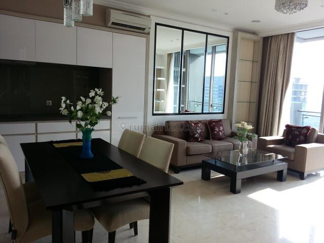 Apartemen Residence 8 Senopati 2BR+1 Full Furnished Low Floor, Senopati, Jakarta Selatan