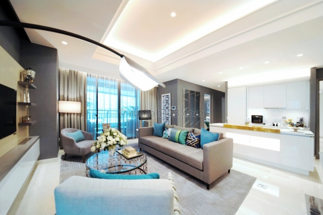 Apartemen Premium 3BR Semi Furnished Puri Indah, Puri Indah, Jakarta Barat