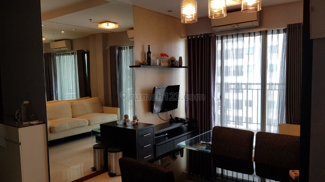 Apartemen Thamrin Residence 2BR Tower A High Floor Full Furnished, Thamrin, Jakarta Pusat