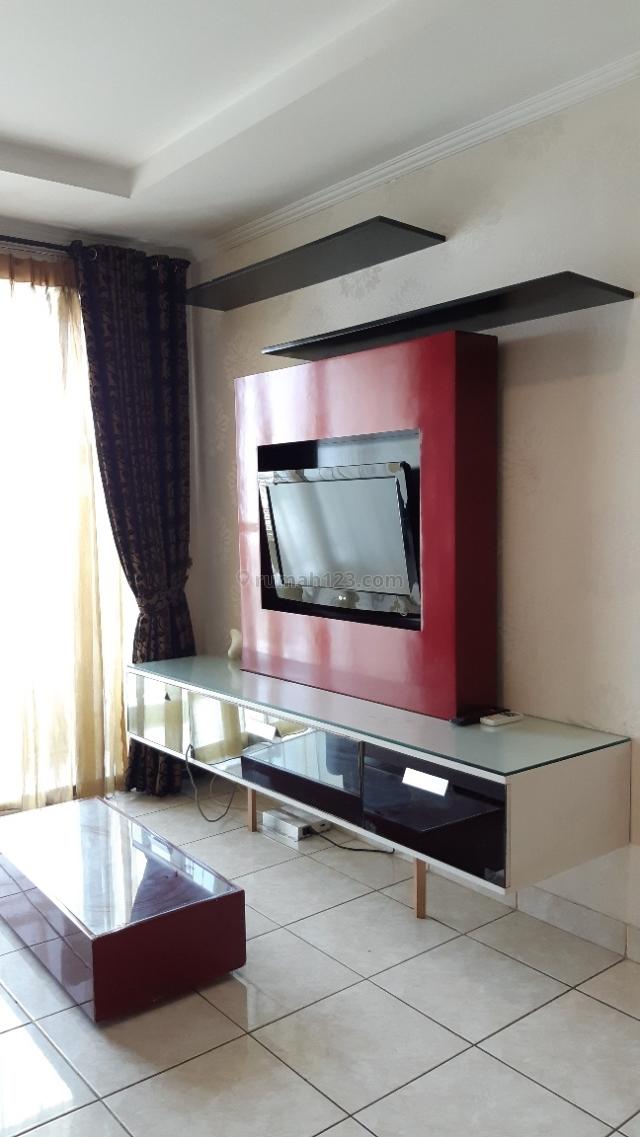 Apartemen 2+1 kamar tidur Fullfurnish 85m2 MOI Kelapa Gading bulan/tahunan, Kelapa Gading, Jakarta Utara